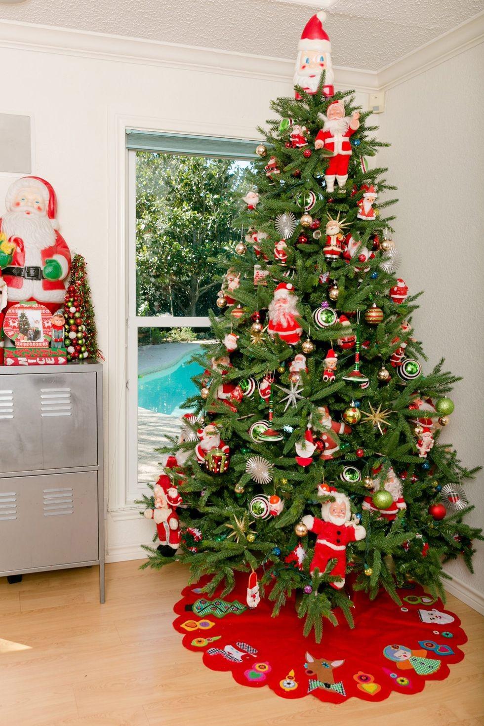 Винтажный Санта