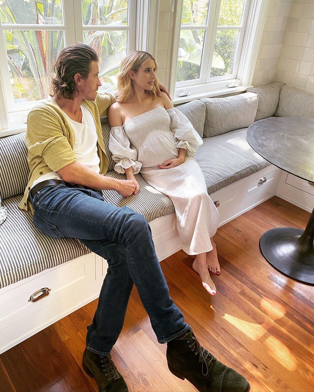 Эмма Робертс беременна фото