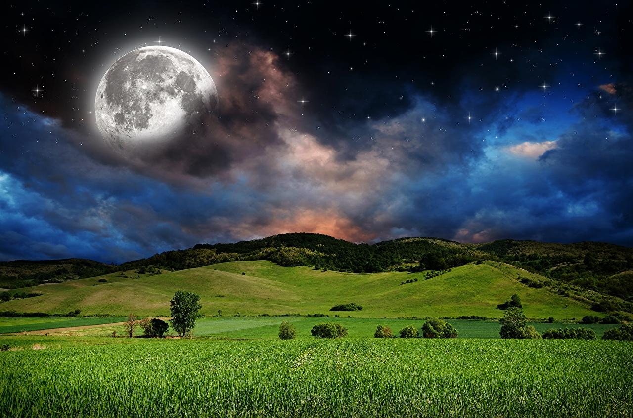 фазы Луны в июне 2021