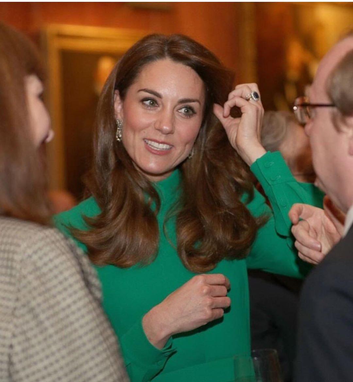 кейт миддлтон в зеленом платье