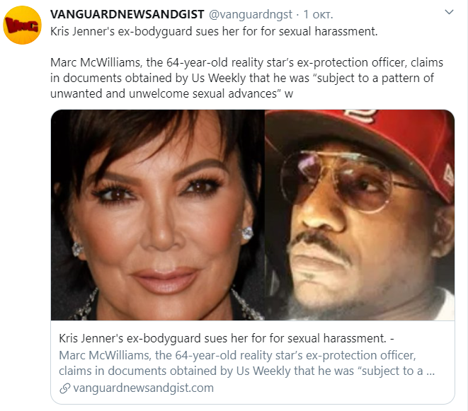 Бывший телохранитель Крис Дженнер обвиняет ее в сексуальных домогательствах и расизме - фото №3