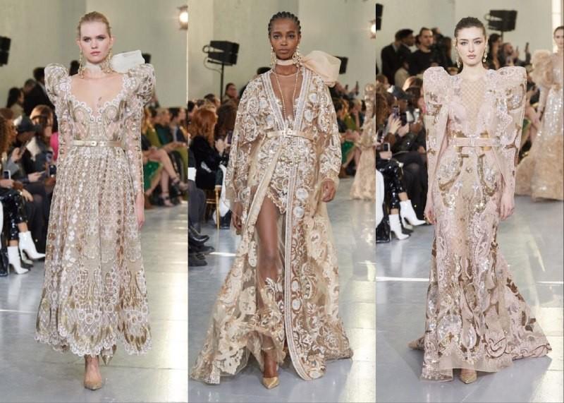 Богемный кутюр: Valentino, Dior, Elie Saab на неделе высокой моды - фото №10