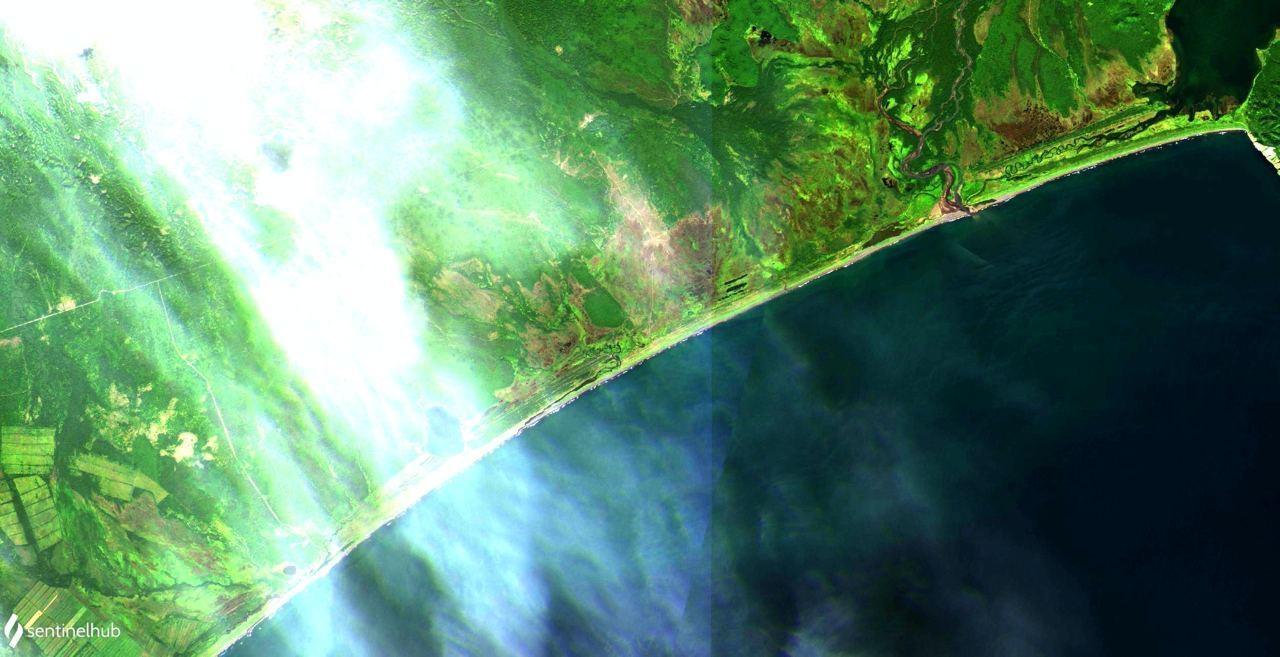 берег Камчатки