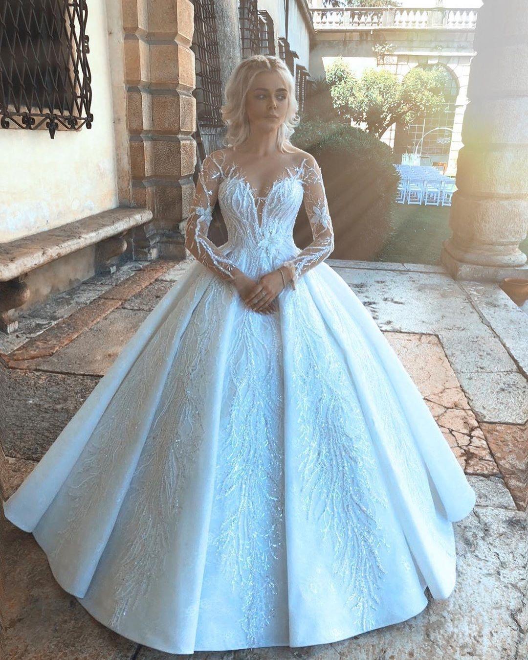 Самые яркие свадебные платья украинских звезд (ФОТО) - фото №8