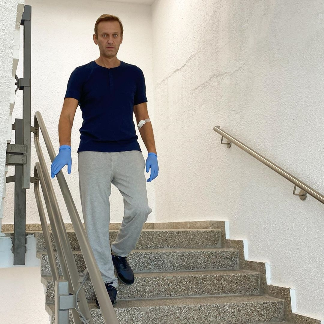 Алексей Навальный в больнице