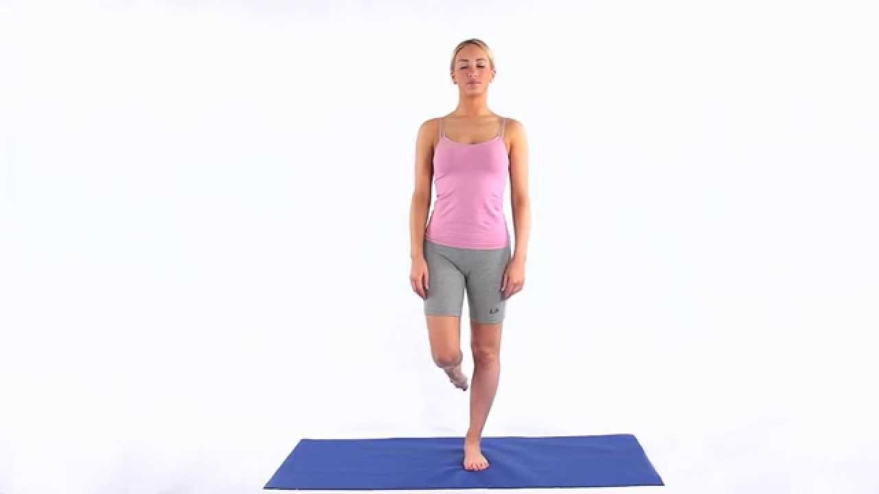 Упражнение №2: подъем с согнутой ногой