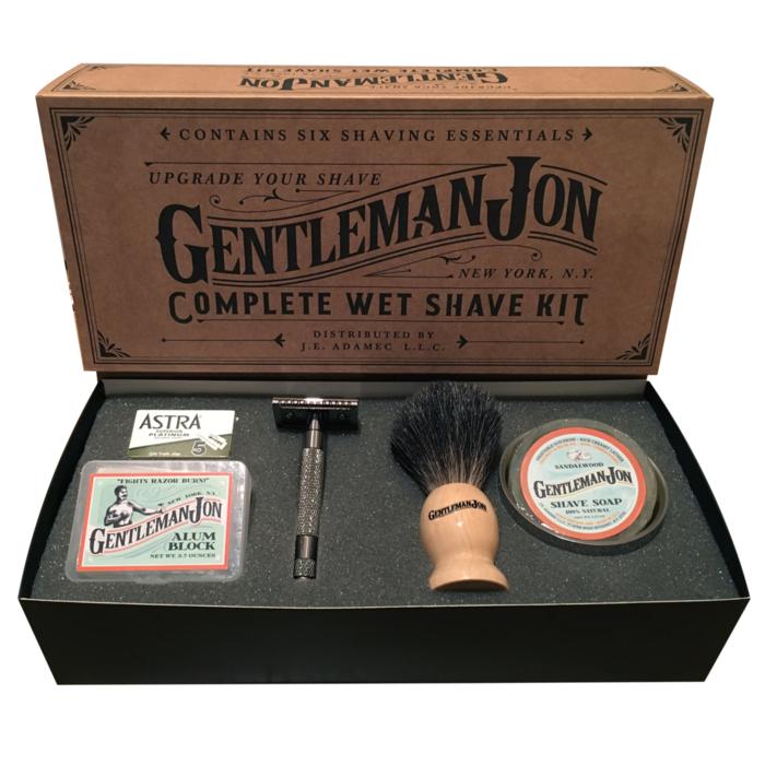 Набор для бритья в стиле old school