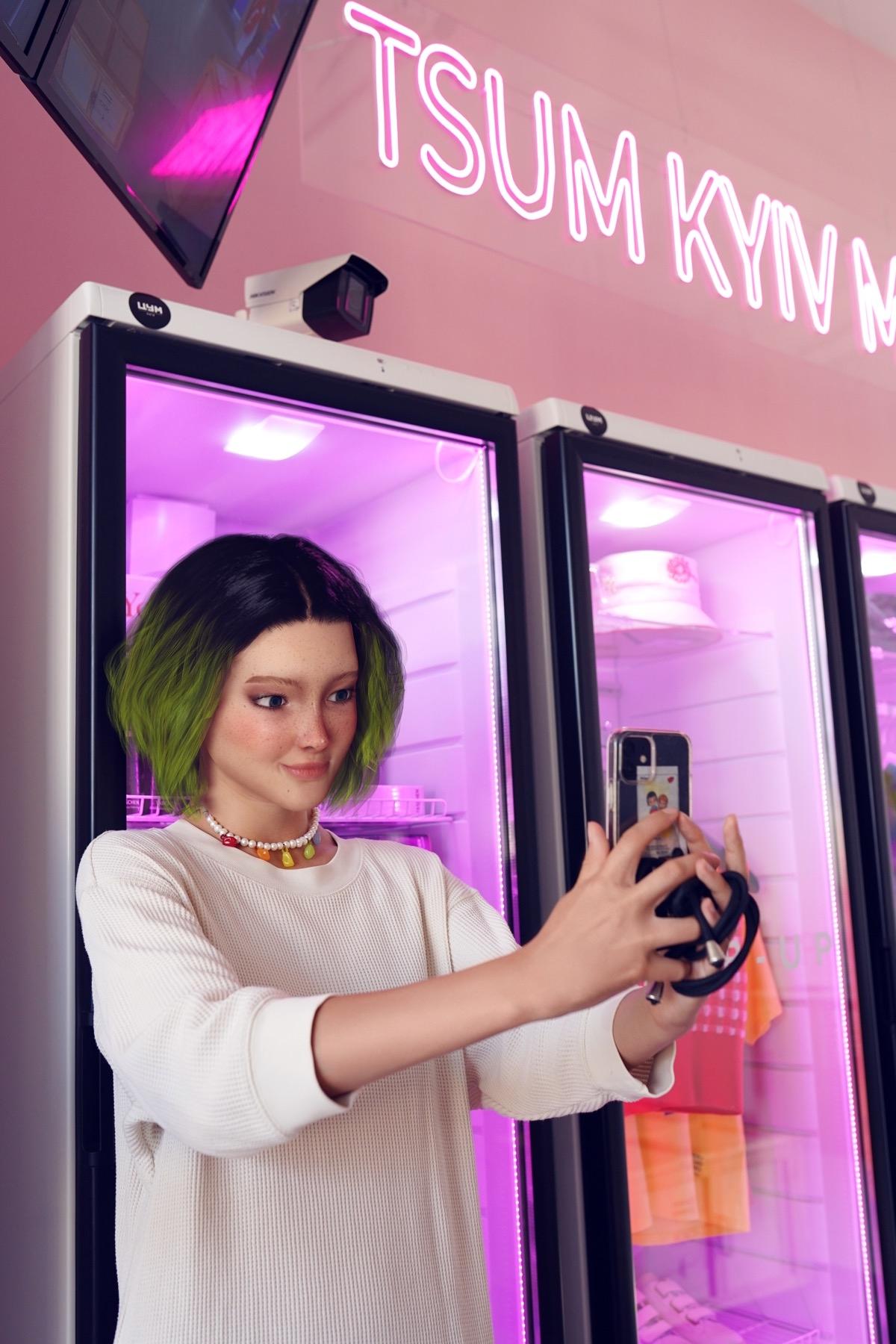 В Украине создали первую цифровую fashion-инфлюенсерку в Instagram: ее зовут Астра Стар (ФОТО) - фото №2