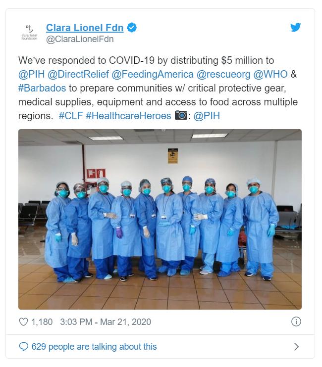 Рианна пожертвовала 5 миллионов долларов на борьбу с коронавирусом - фото №2