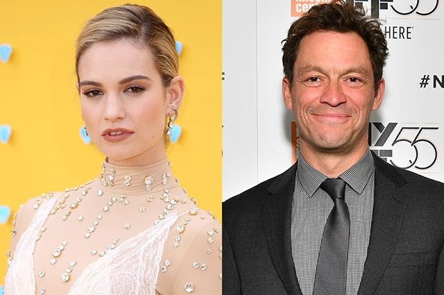 Лили Джеймс впервые прокомментировала роман с женатым актером Домиником Уэстом - фото №1