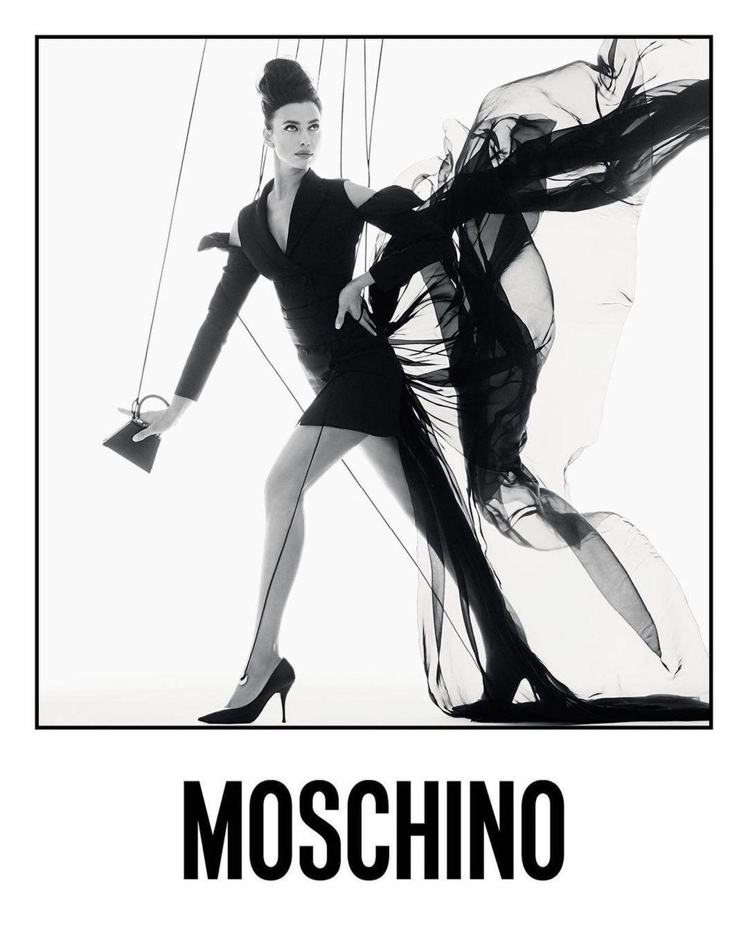 Ирина Шейк и Белла Хадид превратились в марионеток в новой рекламе Moschino (ФОТО) - фото №2