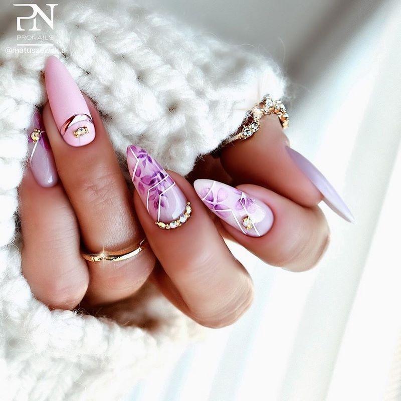 Стильный маникюр: ТОП-20 дизайнов ногтей на лето - фото №7