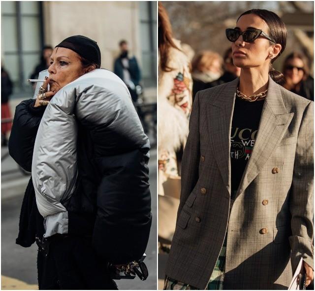 Стритстайл на Неделе высокой моды в Париже: как носить кутюр каждый день - фото №34