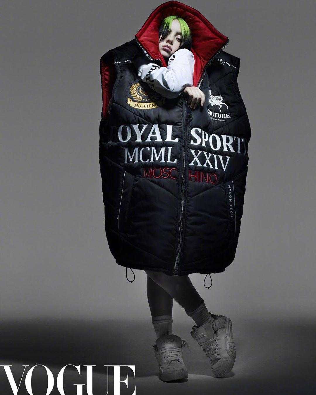 Билли Айлиш снялась для китайского Vogue (фото) - фото №2