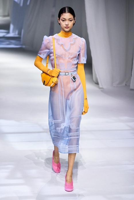 Неделя моды в Милане: Fendi выпустили коллекцию, вдохновленную карантином и пандемией (ФОТО) - фото №10