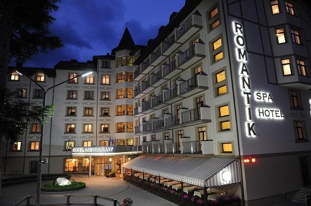 Романтик спа отель Яремче