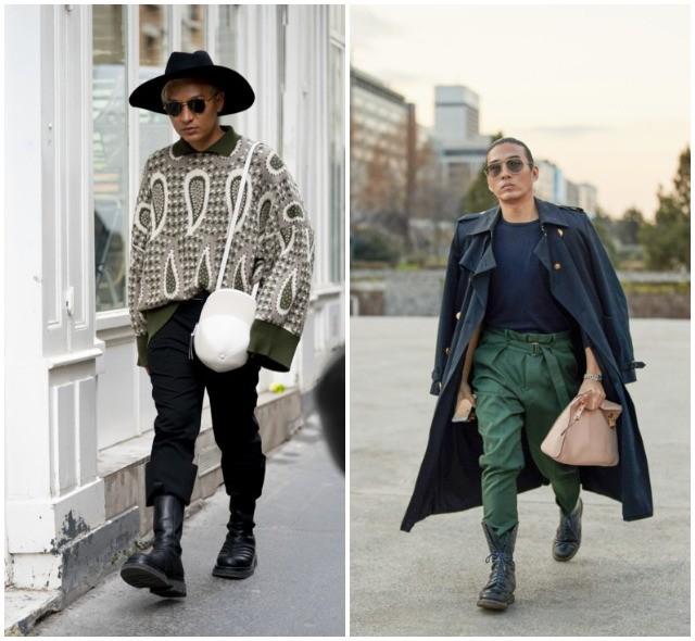 Что носят в Париже: стритстайл-образы гостей французской мужской Недели моды - фото №21