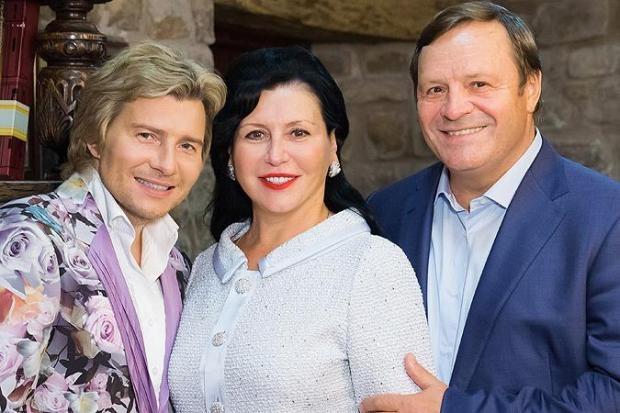 Николай Басков, отец и мама