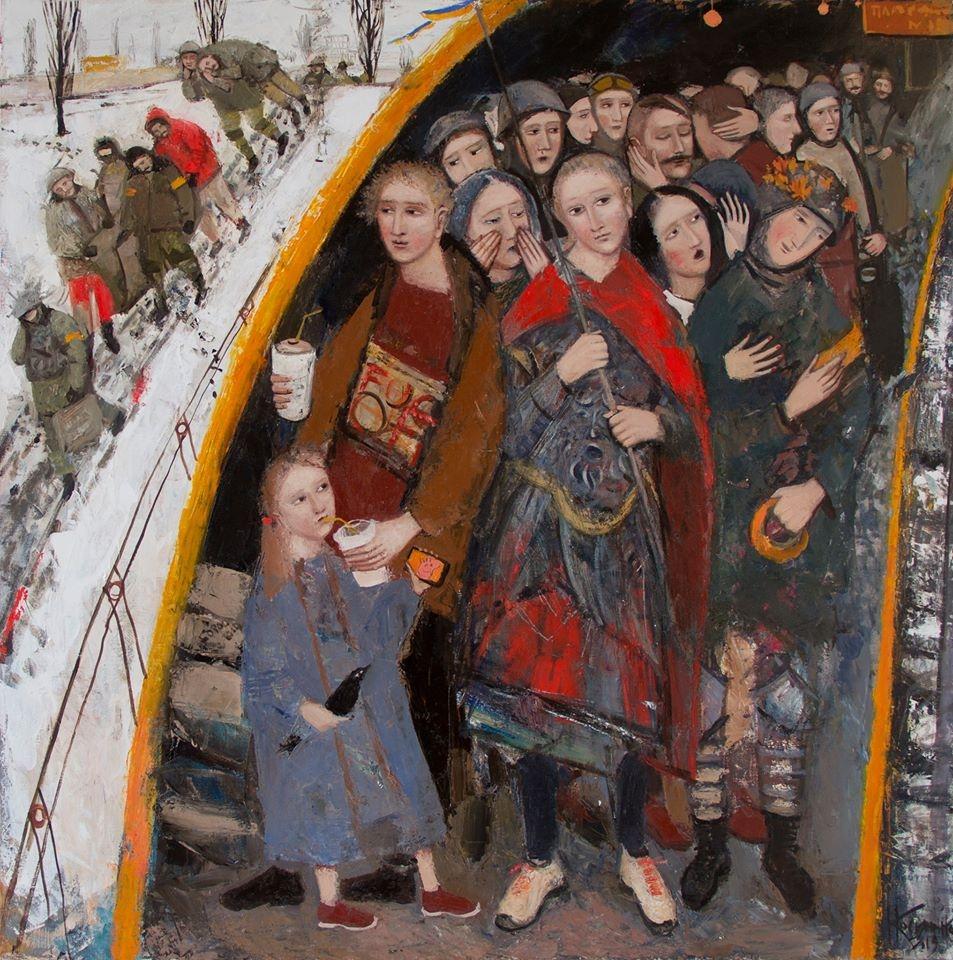 Поэзия и искусство: Сергей Жадан и Екатерина Касьяненко представили совместную книгу - фото №1