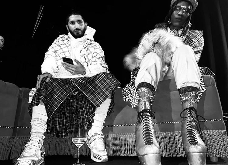 Шутки в сторону: Александр Гудков стал новым лицом модного бренда Gucci - фото №2