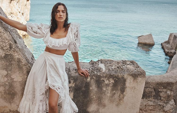 Рай на земле: Ирина Шейк снялась в горячей рекламе купальников Zimmermann (ФОТО) - фото №6