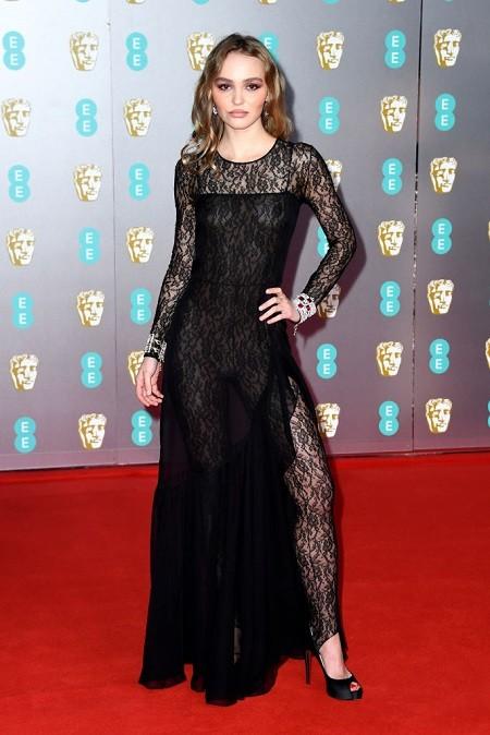 Кейт Миддлтон, Лили Роуз Депп, Скарлетт Йоханссон на BAFTA 2020 - фото №9