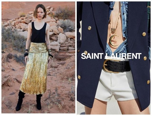 Марокканские мотивы и непревзойденная Зои Кравиц в новой кампании Saint Laurent (ФОТО+ВИДЕО) - фото №3