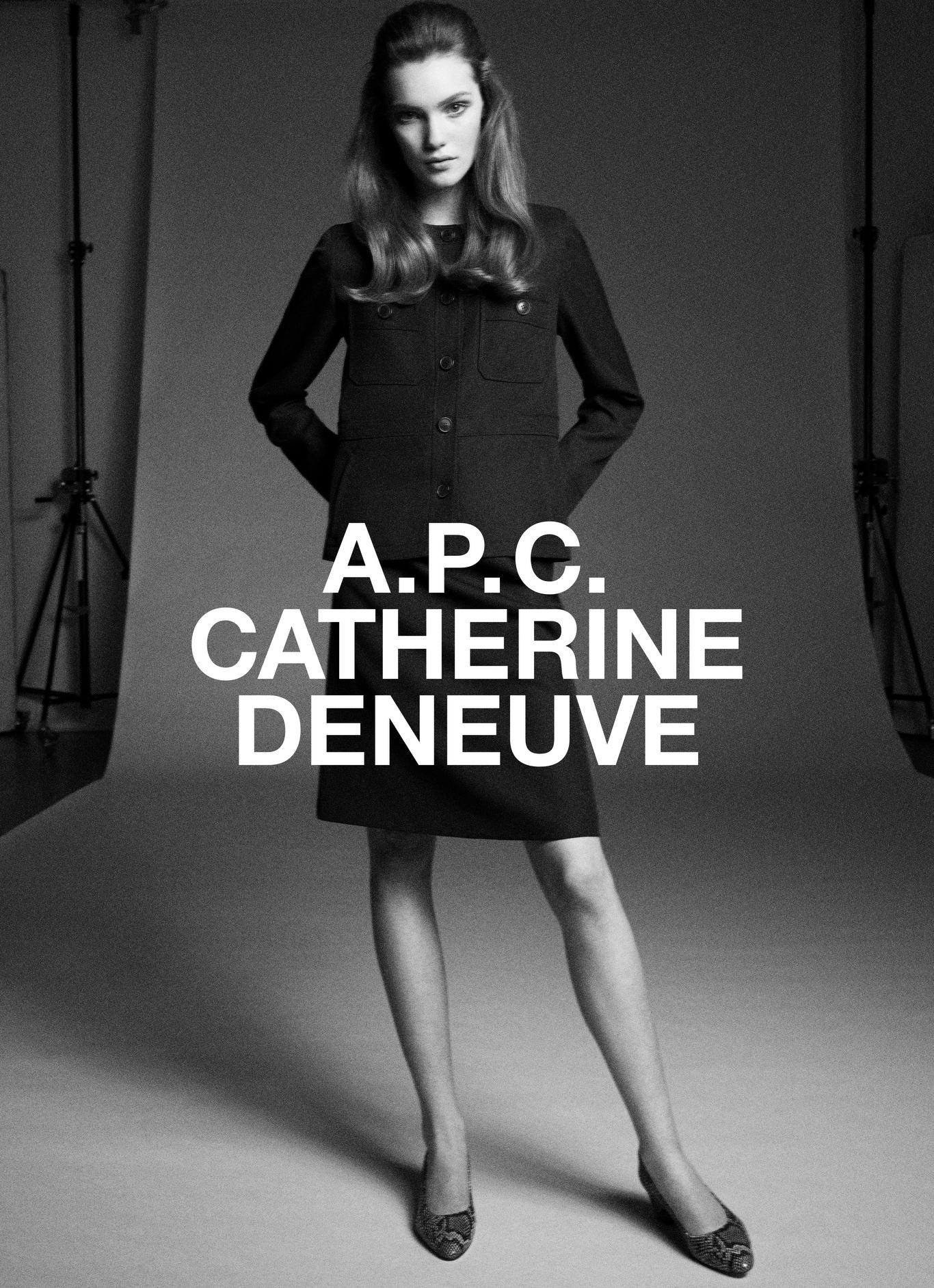 Катрин Денев создала коллекцию одежды для A.P.C. (ФОТО) - фото №1