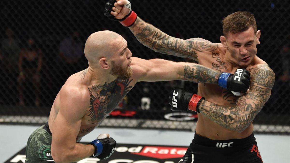 Конор Макгрегор сломал ногу и проиграл в бою с Дастином Порье на UFC 264 - фото №2