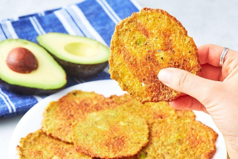 Чипсы из авокадо