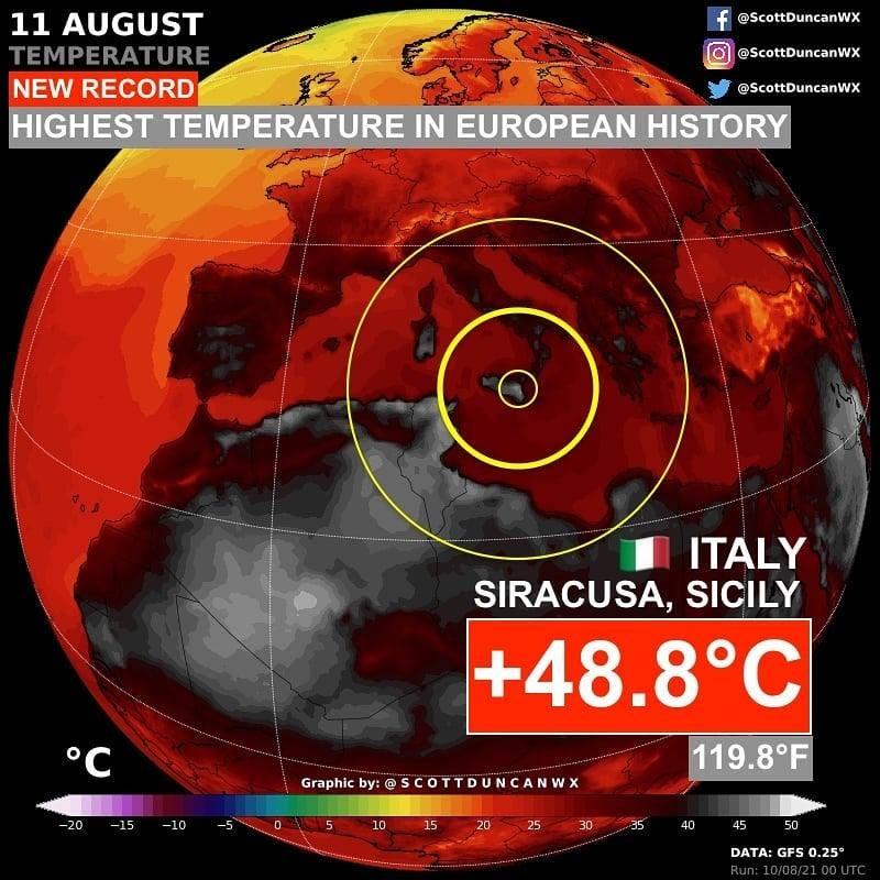 Аномальная жара: в Европе зафиксировали новый температурный рекорд - фото №1