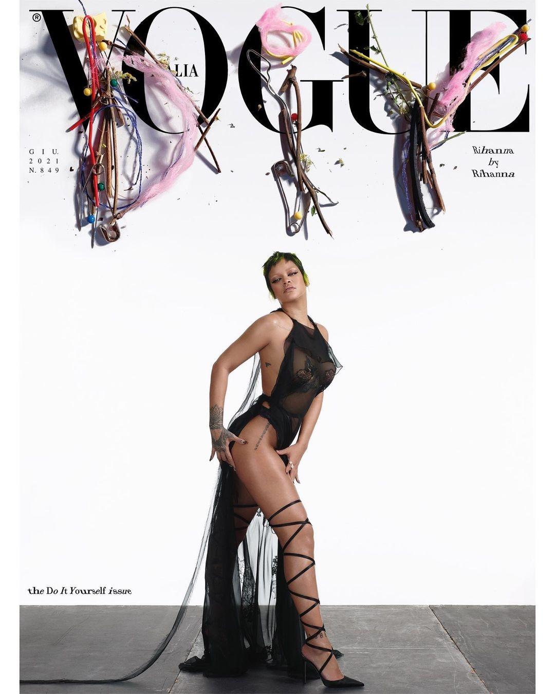 Рианна украсила обложку нового номера Vogue (ФОТО) - фото №1