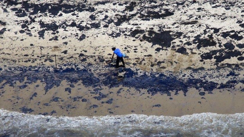 Экологическая катастрофа: в Калифорнии в океан попало более полумиллиона литров нефти (ФОТО) - фото №2