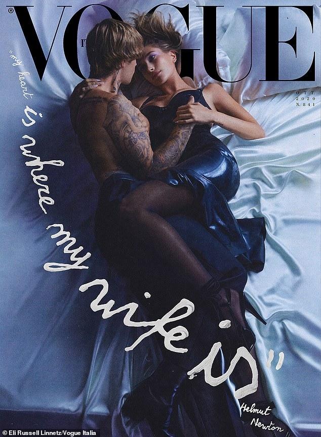 """""""Нам нечего скрывать"""": Джастин и Хейли Бибер появились на обложке Vogue и рассказали о своих отношениях - фото №1"""