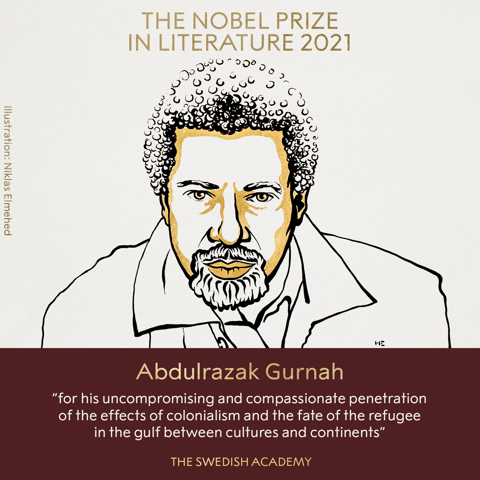 Нобелевскую премию по литературе получил танзанийский писатель - фото №1