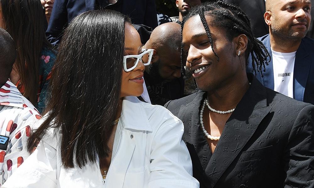 """""""Я по-настоящему счастлив"""": A$AP Rocky о романе с Рианной - фото №2"""