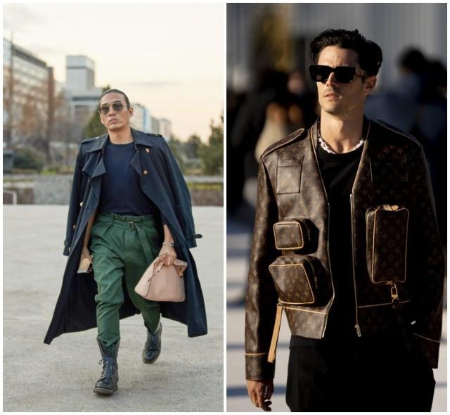 Что носят в Париже: стритстайл-образы гостей французской мужской Недели моды - фото №26