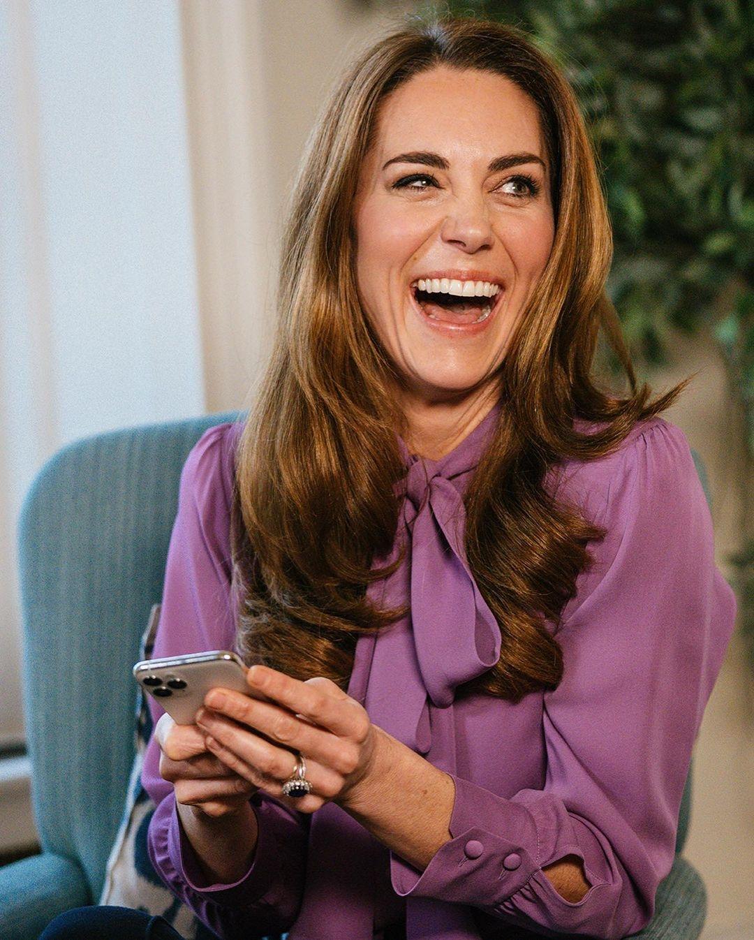Лавандовый — тренд сезона: рассматриваем новые образы Кейт Миддлтон (ФОТО) - фото №1