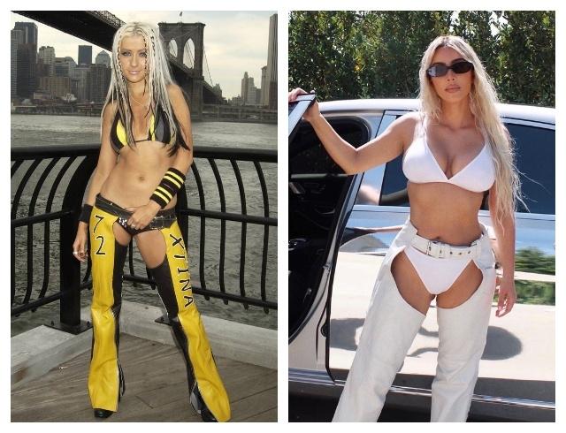 Pikantes Fotoshooting: Kim Kardashian zeigte die perfekte Figur in einem sehr aufschlussreichen Outfit (FOTO) - Foto Nr. 5
