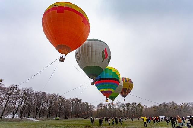 фестиваль воздушных шаров киев