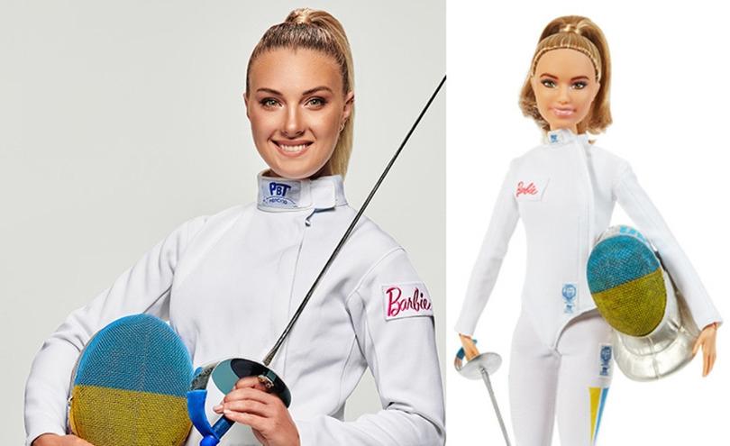 Украинская фехтовальщица и олимпийская чемпионка стала прототипом куклы барби(ФОТО) - фото №1