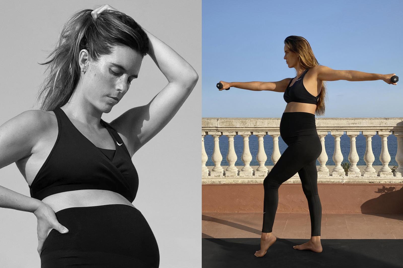 Материнство и спорт: Nike впервые выпустили коллекцию спортивной одежды для беременных (ФОТО) - фото №2