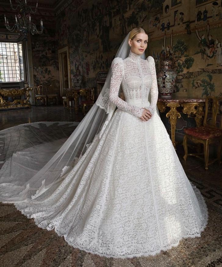 китти спенсер свадебное платье