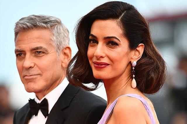 Супруги Джордж и Амаль Клуни отреагировали на слухи о беременности - фото №2