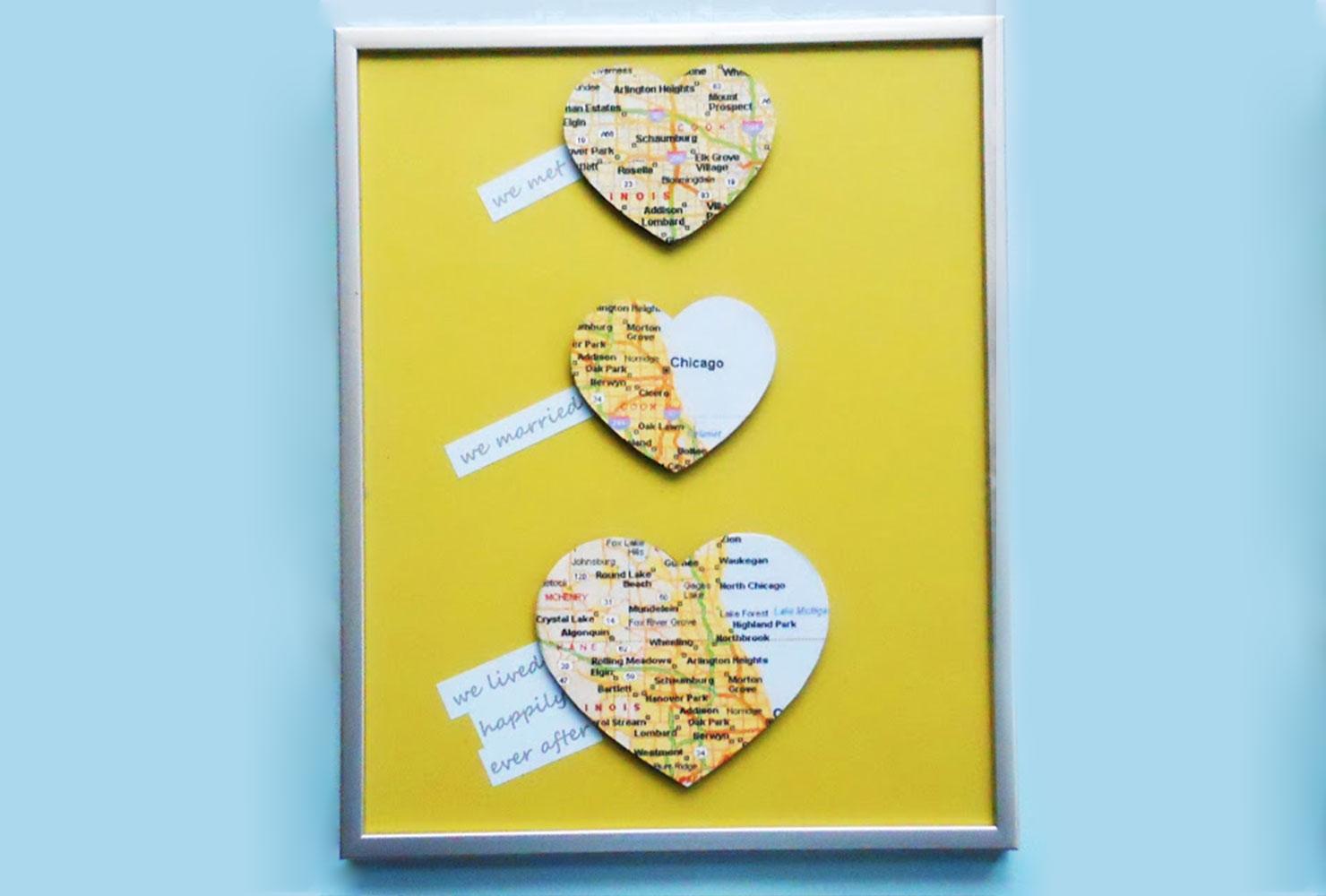 как сделать карту любви