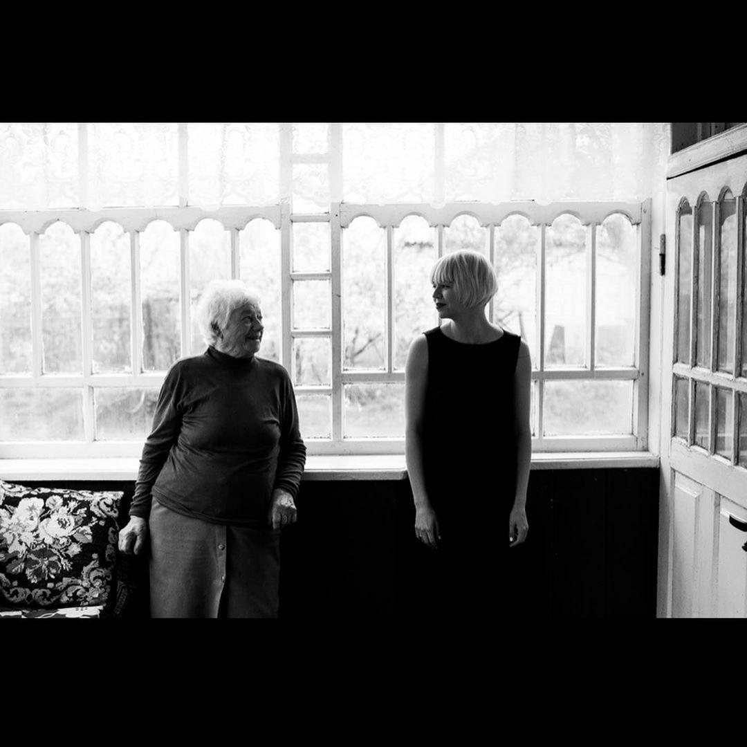 ONUКА с бабушкой Валентиной Шленчик