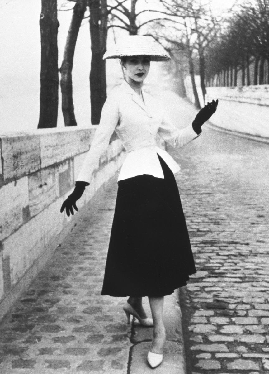 50-е годы мода, винтажные наряды