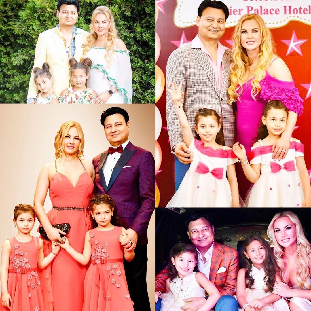 Семейный фотоколлаж Камалии