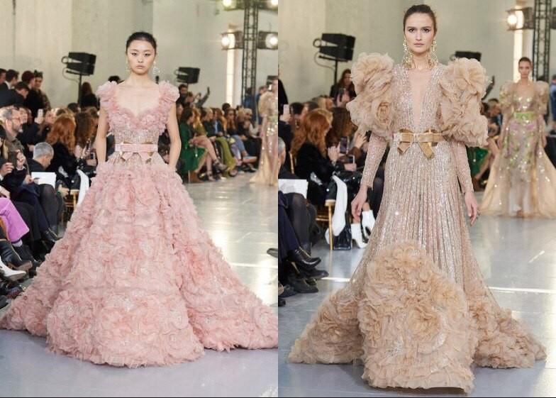 Богемный кутюр: Valentino, Dior, Elie Saab на неделе высокой моды - фото №11