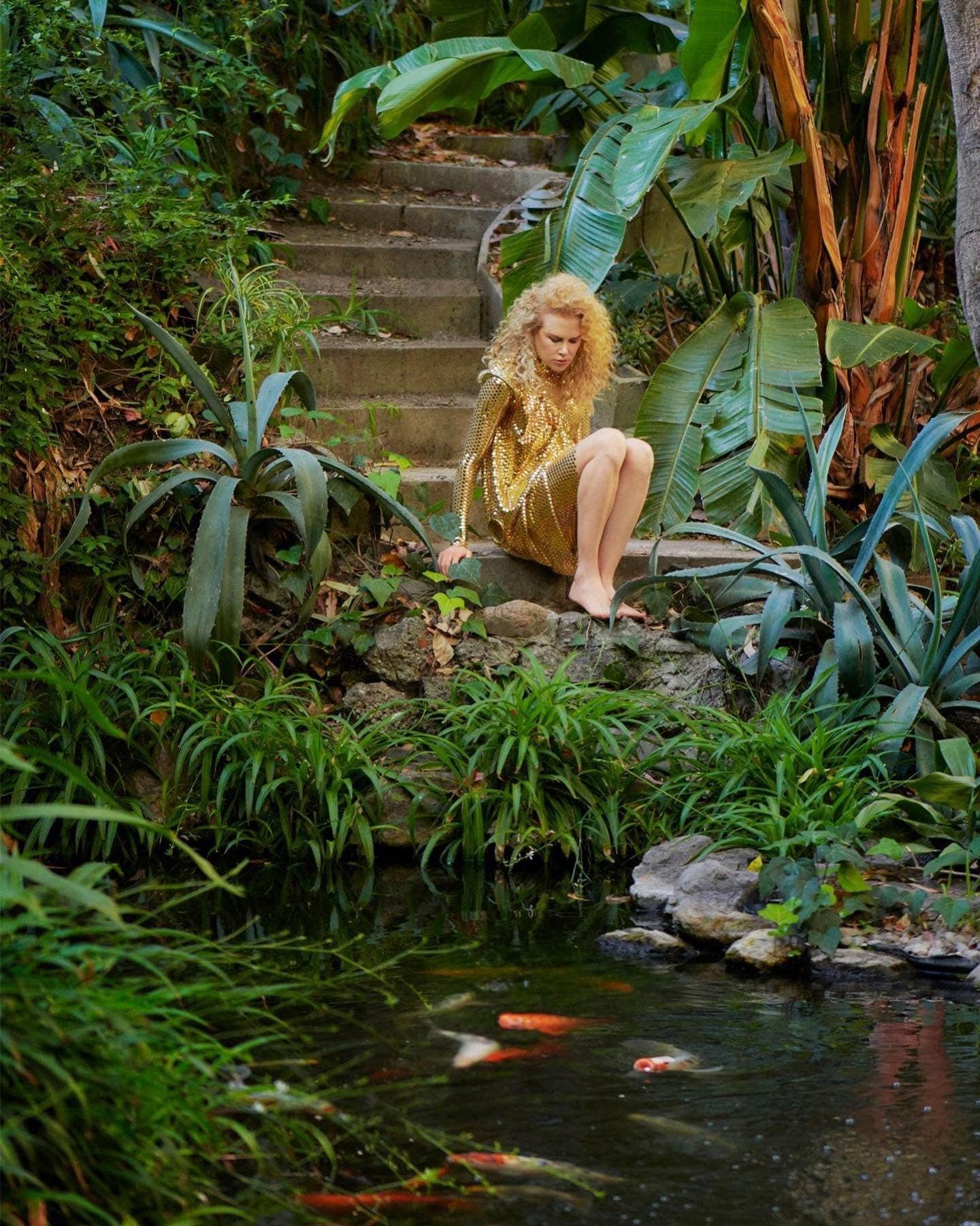Николь Кидман снялась в гламурной фотосессии для глянца и высказалась о браке с Томом Крузом - фото №4